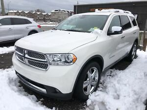 2012 Dodge Durango Citadel, Navi, Leather, Sunroof, 3rd Row Seat