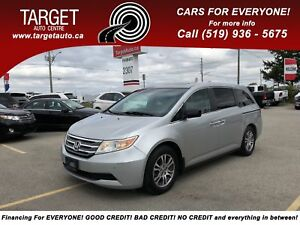 2012 Honda Odyssey EX-L, 8-Pass, DVD, well maintained ***