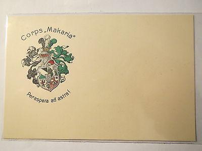 Zwickau - Corps Makaria - Wappen / Studentika