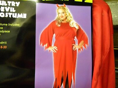 Womens 18-20 Plus size SULTRY DEVIL Halloween Costume