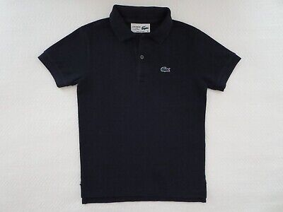 Lacoste for J.Crew Crewcuts Boys' Size 6 Navy Blue Pique Polo Izod