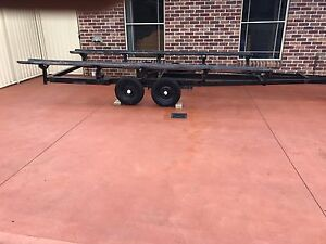 Pontoon trailer Chittaway Point Wyong Area Preview