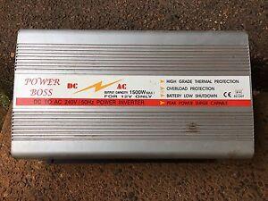 Redarc/Powerboss1500W inverter Broome Broome City Preview