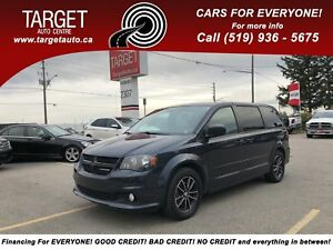 2014 Dodge Grand Caravan SXT, DVD, Back-Up Camera and More !!