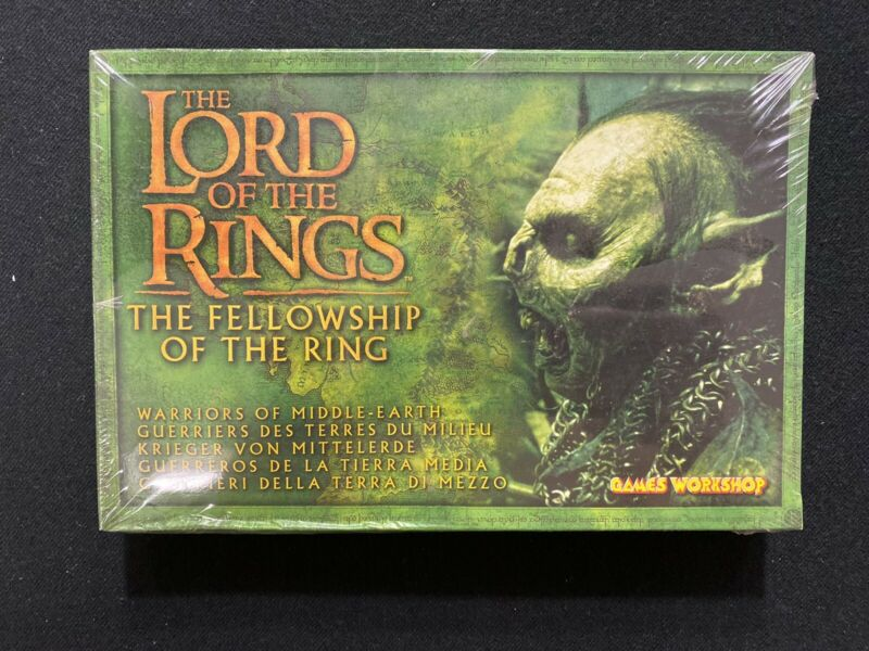 The Lord of the Rings Strategy Battle Games Warriors of Middle-Earth - Sealed
