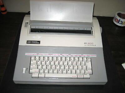 Refurbish Smith Corona Dx 3500 Typewriterword Processor Spell-right Dictionary