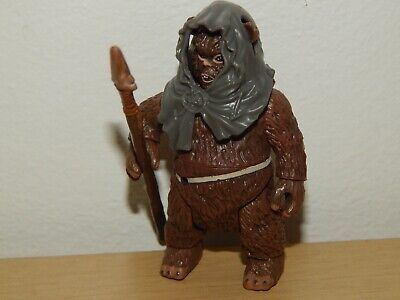 "STAR WARS EWOK ROMBA 3.75"" ACTION FIGURE #A"