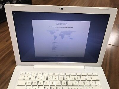 "Apple A1181 MacBook 13.3"" Laptop with Intel Core 2 Duo 2.10GHz 2GB RAM 120GB HDD"