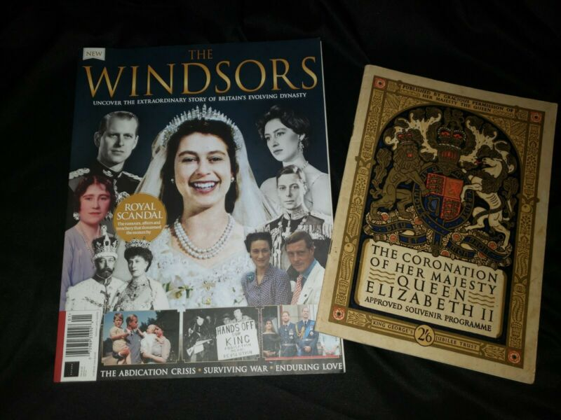 THE CORONATION OF HER MAJESTY QUEEN ELIZABETH II, 1953 Souvenir/The Windsors lot