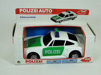 Dickie Polizei Auto mit Friktionsantrieb ca. 20 cm Neu in OVP