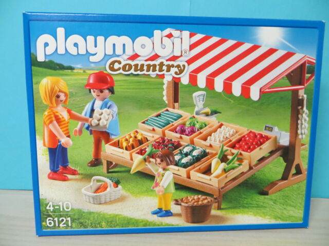 Playmobil 6121 Gemüsestand NEU/OVP