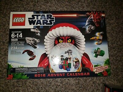 LEGO ~ 2012 STAR WARS ADVENT CALENDAR SET ~ 9509 234 pieces holiday exclusive