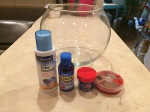 1 gallon water tank with accessories for Betta