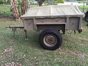 No.5 Trailer Ex Army ARN 33997 Uki Tweed Heads Area Preview