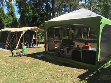 Diamantina Hacienda canvas tent Mount Riverview Blue Mountains Preview
