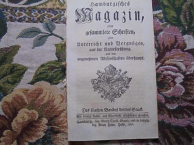 1750 ... Magazin 2 / Schafe Räude / Mensch und Luft / Falken / Holz / Auerstedt