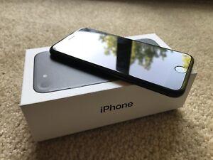 * 128GB Matte Black Unlocked iPhone 7 *