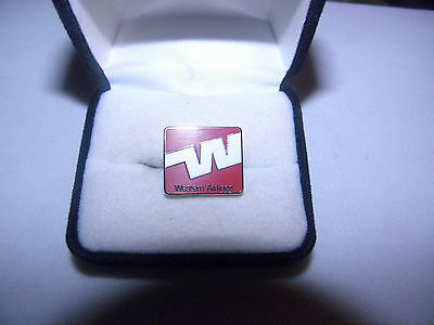 COLLECTABLE 70'S 80'S WESTERN AIRLINE LAPEL TAC PIN AIRPLANE PILOT FA NICE GIFT