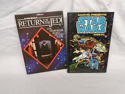 STAR WARS ANNUAL 1977 & RETURN OF THE JEDI STORYBOOK 1983