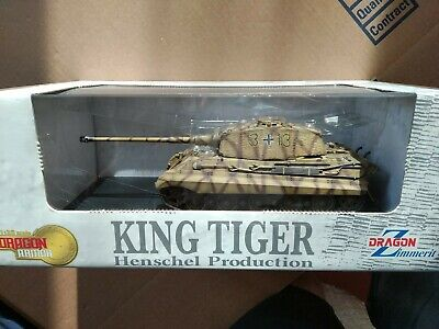 Dragon Armor 61011 1:35 King Tiger, Henschel production 1944