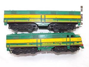 Marx western pacific train set 80s