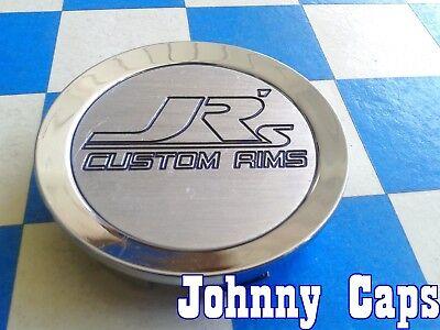 JR's CUSTOM RIMS Wheels [75] CHROME Center Caps # CAP13B  Custom Center Cap (1)  Center Caps Custom Rims