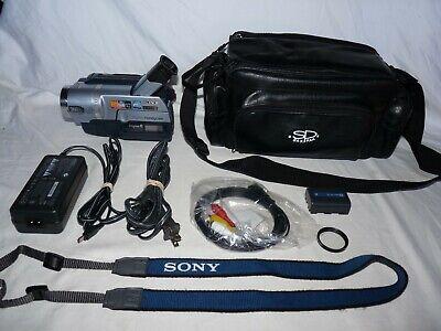 Sony DCR-TRV140 Digital8 Digital 8 Camcorder VCR Player Camera Video Transfer
