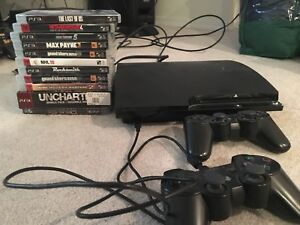 PS3 2 controllers 11 games