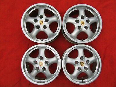 PORSCHE 993/964/944/966/968 17 INCH GENUINE CUP 2 WHEELS