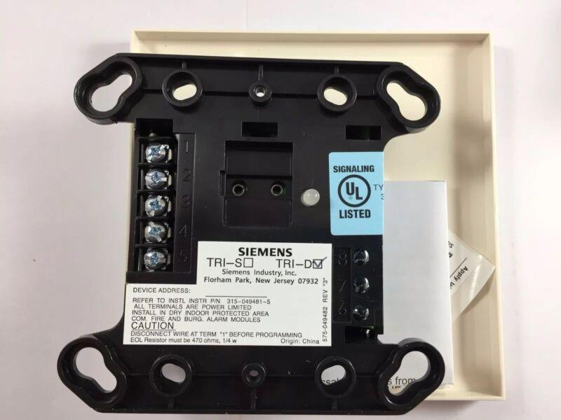 Siemens TRI-D Intelligent Dual Monitoring Module MXL/V System *New* *Discontinue