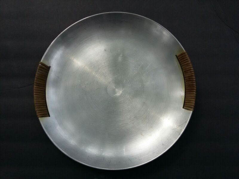 Vintage MCM Russel Wright Spun Aluminum Serving Tray
