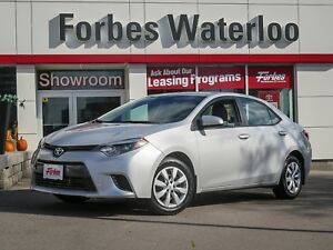 2015 Toyota Corolla 1 OWNER! LE/BLUE TOOTH/HEATED SEATS/BACK-UP