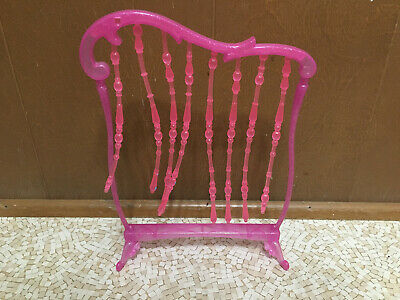 2008 Barbie Doll My House Glam Pink Beaded Room Screen Divider Bedroom Furniture