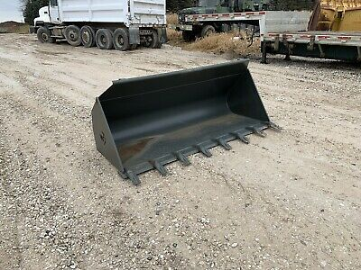 Wacker Neuson 84 Inch Loader Bucket 5100014008 Tooth Skid Steer Wl60 Loader