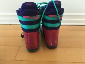 Burton Snowboard Boots and Helmet (Lightly Used)