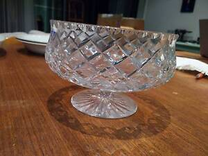 Crystal bowl Braddon North Canberra Preview
