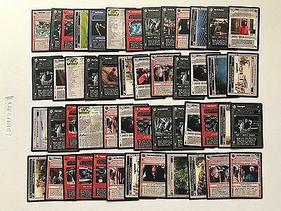 Star Wars Ccg Coruscant Lot Of 50   Group Bt