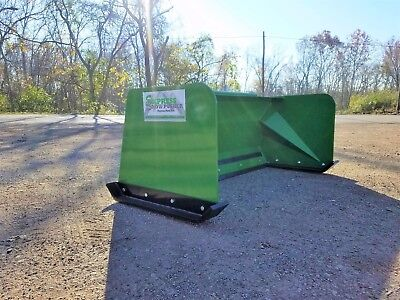 5 Low Pro John Deere Snow Pusher Box Local Pick Up-rtr Tractor Loader Snow Plow