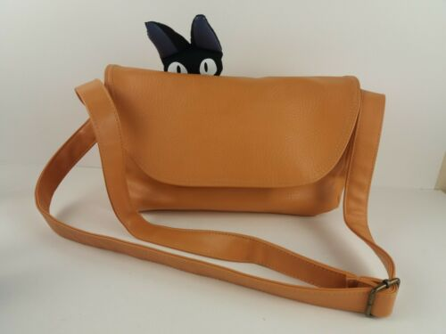 Vtg Studio Ghibli Bioworld Kikis Delivery Service JIJI Cat Purse Shoulder Bag