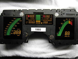 1985 Corvette Tuned port digital dash instrument cluster Rebuilt 85 86 87 84 89
