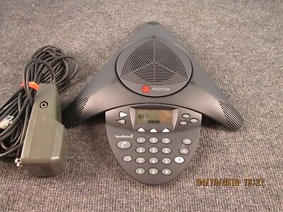 Polycom Soundstation 2 Analog Conference Station 2201-16000-601 3 In Stock