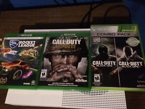 Xbox one games and headset