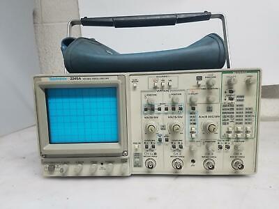 Tektronix 2245a 4 Channel 100mhz Oscilloscope