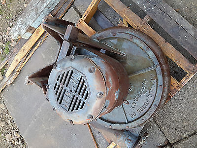 Buffalo Forge Co Turbo Blower 10hp Motor Furnace Industrial Forge Dust Collector