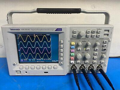 Tektronix Tds3014c Tds3054c 4ch Digital Phosphor Oscilloscope 500 Mhz 5gss