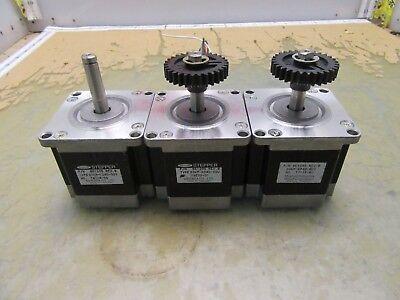 Lot Of 3x Minebea 8e1205 Rev B Stepper Motors Nema 23 3k-11