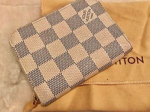 Genuine Louis Vuitton Damier Azur Zippy Coin Purse. Wanneroo Wanneroo Area Preview