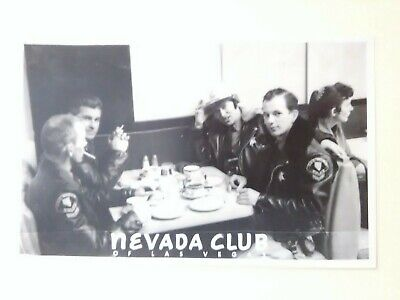 1959 NEVADA CLUB LAS VEGAS METRO POLICE POSTCARD GREAT FOR VINTAGE COLLECTION!