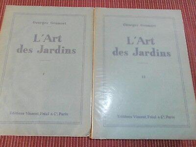 L'ART DES JARDINS  ANNÉE 1953  ( ref 53)