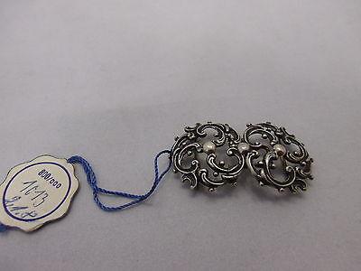 Trachtenschnalle aus Silber 800 Trachtenschmuck